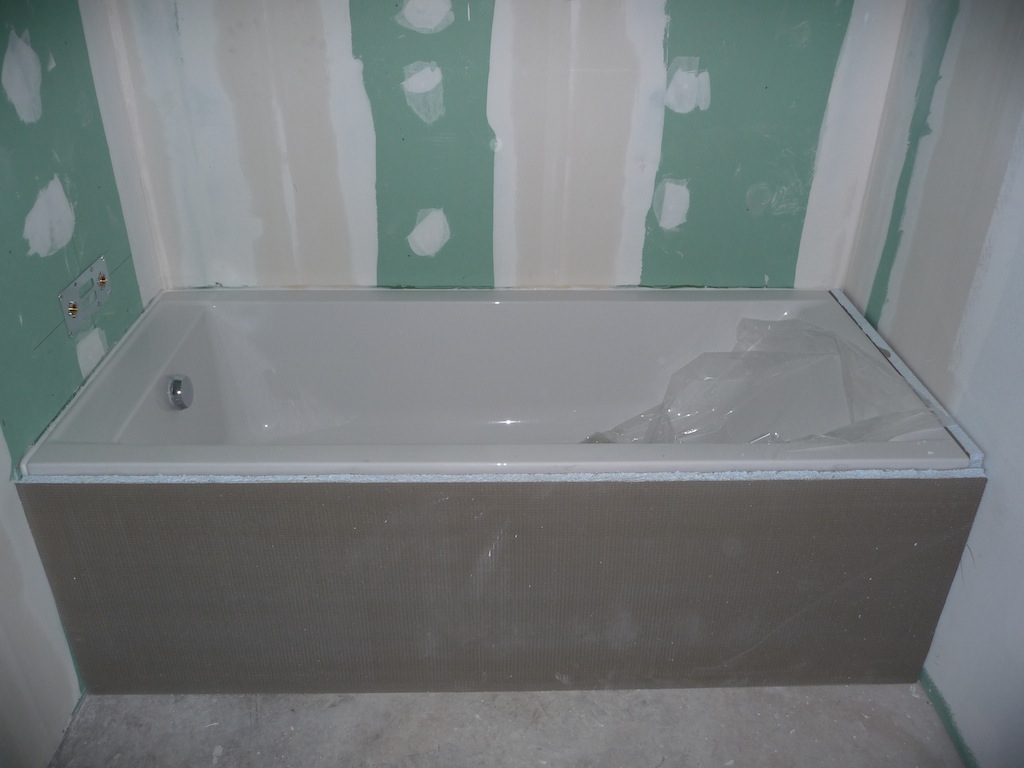 comment installer une baignoire. comment poser une baignoire