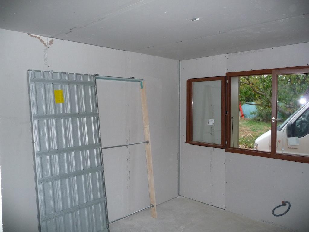 porte coulissante interieur | terrasse en bois - Poser Une Porte Coulissante Dans Une Cloison
